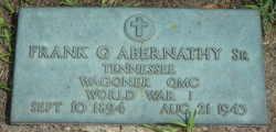 Frank G. Abernathy, Sr