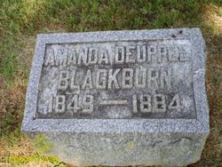 Amanda <i>Deupree</i> Blackburn