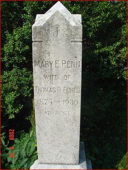 Mary Emma <i>Penn</i> Fones
