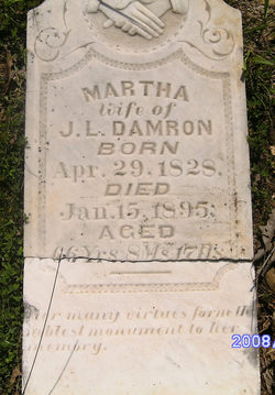 Martha <i>Low</i> Damron