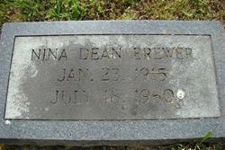 Nina <i>Dean</i> Brewer