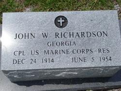 John W Richardson