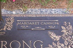 Margaret <i>Cannon</i> Armstrong