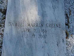 Samuel Warren Greene