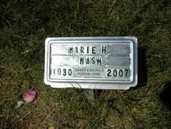 Frances Marie <i>Hight</i> Mash
