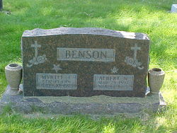 Myrtle Emily <i>Lugviel</i> Benson