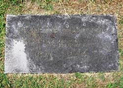 Jeanette Catherine <i>Tillotson</i> Acklen