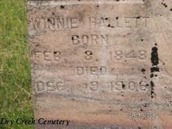 Winnie Jane <i>Wood</i> Hallett