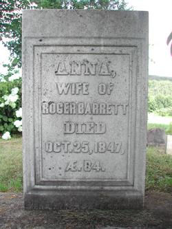 Anna <i>Wilson Bartholomew</i> Barrett