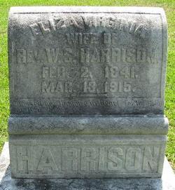 Eliza Virginia Puss <i>Barnett</i> Harrison
