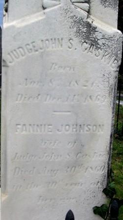 Fannie <i>Johnson</i> Caskie