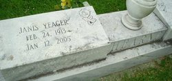 Janis <i>Yeager</i> Hearne