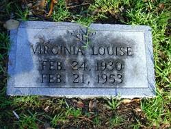 Virginia Louise Sis Whaley