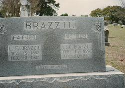 Amanda Elizabeth Lizzie <i>Gillespie</i> Brazzil