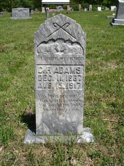 Charles Franklin Frank Adams