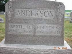 Bertie M Anderson