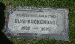 Elva F. <i>Hooker</i> Buckendahl