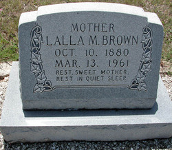 Lalla M Brown