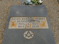 Alvin DeFore <i>Perry</i> Bloodworth