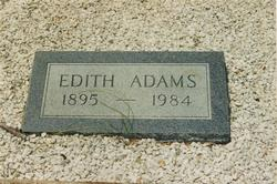 Edith <i>Brazzil</i> Adams