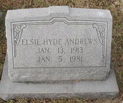 Elsie <i>Hyde</i> Andrews