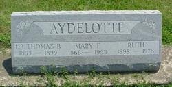 Mary Ann <i>Fisher</i> Aydelotte