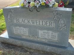 Clarence N Blackwelder
