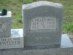 E. Helen <i>Ross</i> Blackwelder