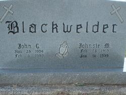 Johnsie M Blackwelder