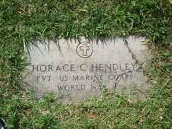 Horace C Hendley