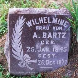 Wilhelmine <i>Geisler</i> Bartz