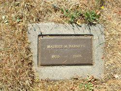 Maurice M Barnett