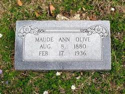 Maude Ann Olive