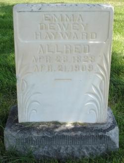 Emma Dewey <i>Hayward</i> Allred