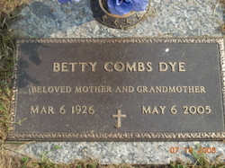 Betty Louise <i>Botkin</i> Combs