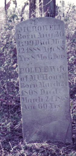 Mary E. Polly <i>Freeman</i> Howell