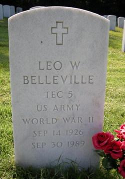 Leo W Belleville
