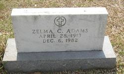 Zelma F. <i>Cunningham</i> Adams