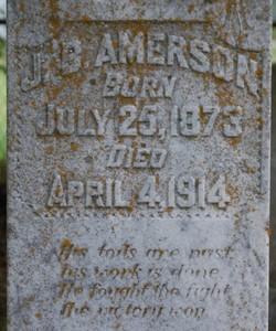 James Benjamin Amerson