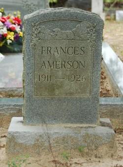 Frances Amerson