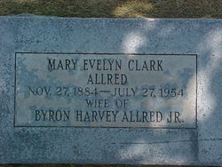 Mary Evelyn <i>Clark</i> Allred