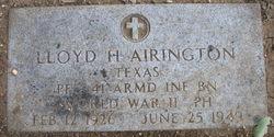 Lloyd Henry Airington