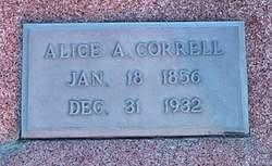 Alice A. Correll