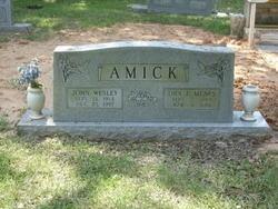 Ora E. <i>Mears</i> Amick