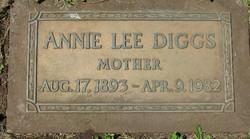 Annie Lee <i>Eddlemon</i> Diggs