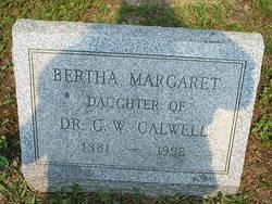 Bertha Margaret Calwell