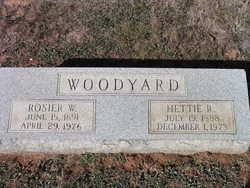 Hettie R Woodyard