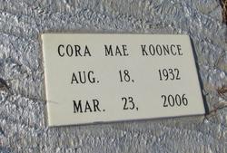 Cora Mae <i>Lawhorn</i> Koonce