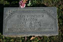 Mary <i>Stonesifer</i> Baucom