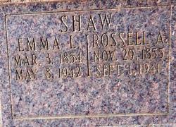 Emma Lee <i>Spratt</i> Shaw